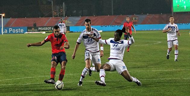 Deux buts de Larbi et le  GFCA l'emporte face à Lyon. (Photos Marcu-Antone Costa)