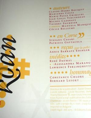 Bastia : Xavier Dandoy de Casabianca et les Editions Eoliennes au service du beau livre et de la bonne littérature