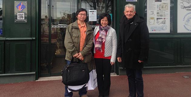 """La chaîne Japonaise NHK à Bastia """"pour le patrimoine et l'aspect authentiquement corse""""de la ville"""