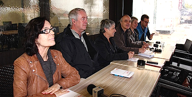 La LDH Corsica lors d'une récente conférence de presse
