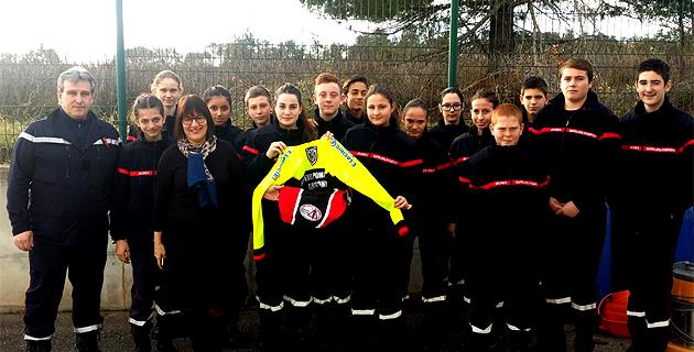L'Association « Adrien Lippini, Un Vélo, Une Vie » aux côtés des Jeunes Sapeurs-Pompiers de la Plaine