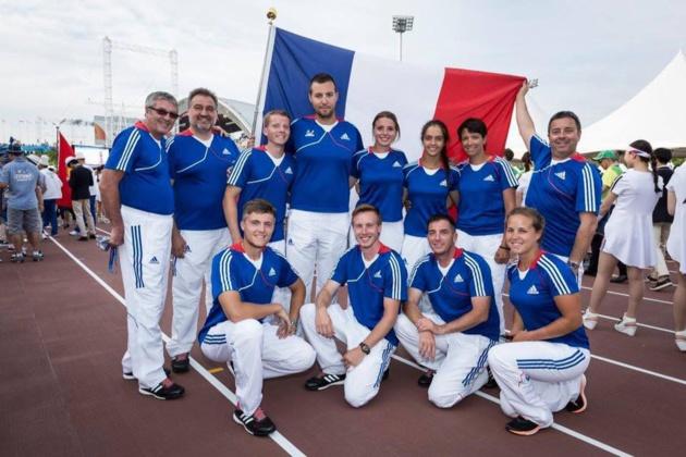 Michæl Sanna avec l'équipe de France aux JO ? (Photos Dr)