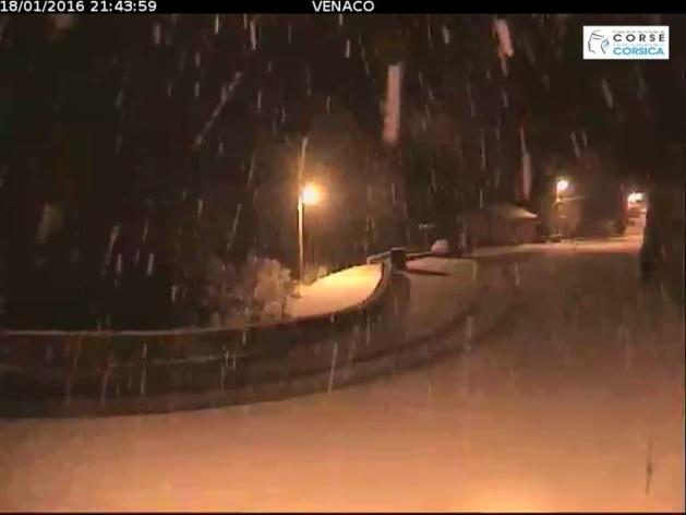 Météo : Avis de vigilance jaune pour la neige et le verglas en Corse