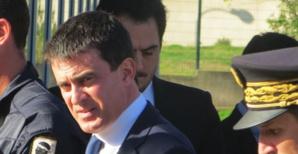 Manuel Valls à Ajaccio en juin 2013.