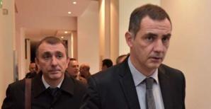 Jean-Christophe Angelini et Gilles Simeoni, président du Conseil exécutif.