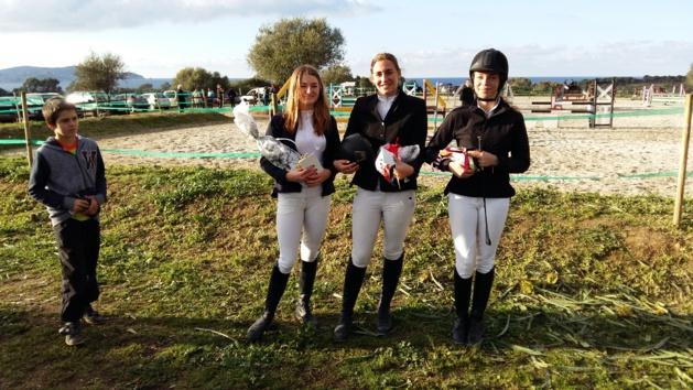Succès au concours de saut d'obstacle au centre équestre de Balagne