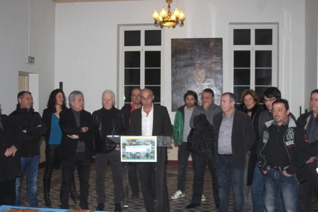 Echange de vœux à la communauté de communes Calvi-Balagne