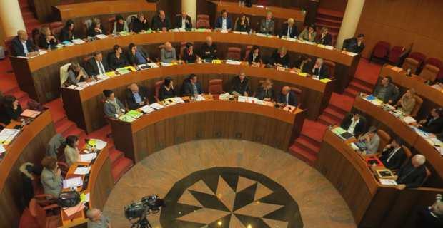 La nouvelle Assemblée de Corse.