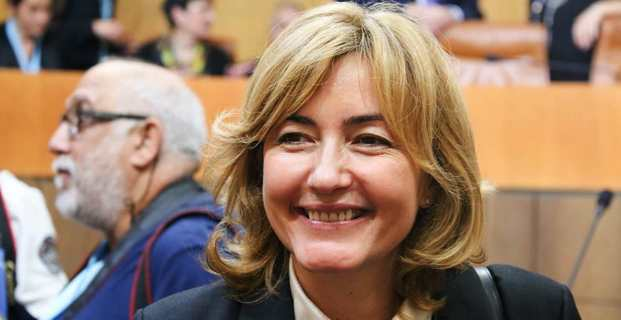 La présidente sortante de la Fédération de Haute-Corse des Républicains, Stéphanie Grimaldi, maire de La Porta et conseillère territoriale, en lice pour un second mandat. Photo Marcu-Antone Costa.
