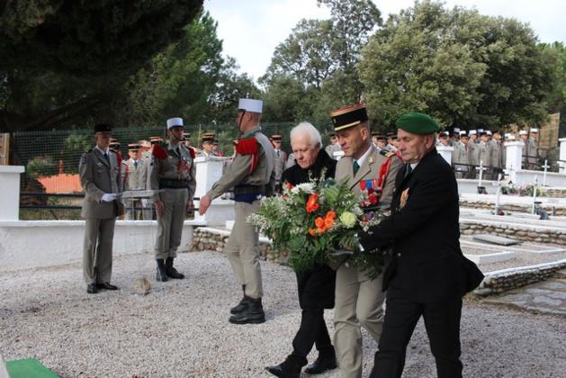 Cérémonie au carré militaire de Calvi à la mémoire des victimes du crash du Mont Garbi en 1982 à Djibouti