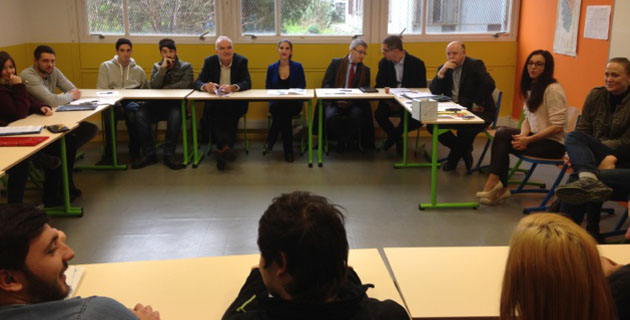 Garantie jeunes : Le préfet en visite à la Mission locale de Bastia
