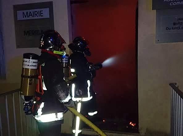 Tavera : La mairie, la poste et l'école détruites par un incendie criminel