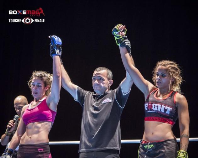 Egalité parfaite entre Maria Casanova (à gauche) et Maguy Berchel