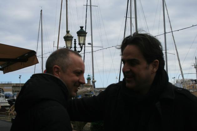 Claudio Cupellini et Edoardo Falcone, les gagnants du Festival du Cinéma italien