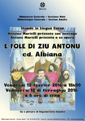 Bastia : Stonde in lingua corsa Vèneri