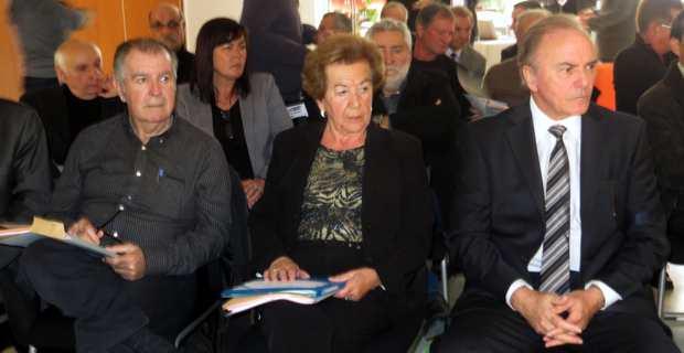 Le front du refus : Anne-Marie Natali, mairesse de Borgo et présidente de la ComCom Marana-Golo, et Sauveur Gandolfi-Scheit, député-maire de Biguglia.