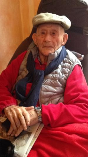 Le doyen de Zilia, François Santelli, a fêté ses 102 ans