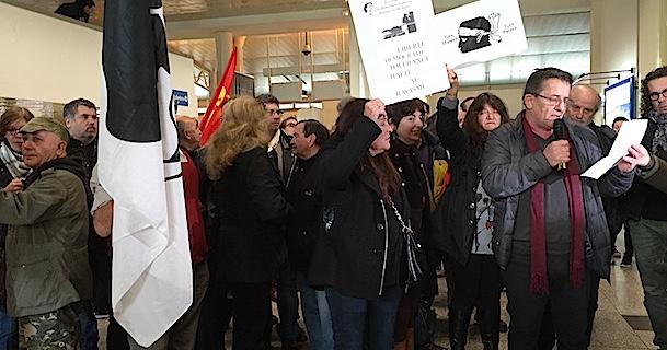 Ajaccio : Une arrivée mouvementée pour les parlementaires de l'ENL