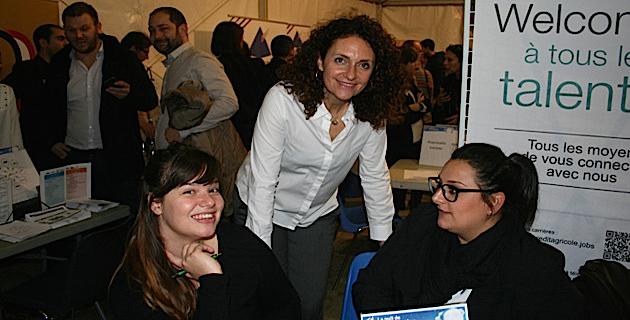Martine Castellani, en charge du service apprentissage à la CCI2B