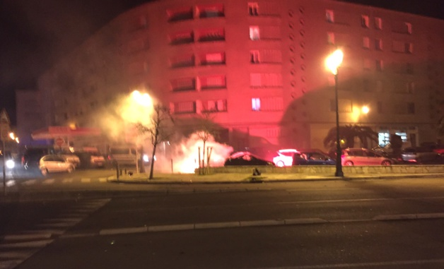 Après-match de Reims : Incidents devant le commissariat de Bastia