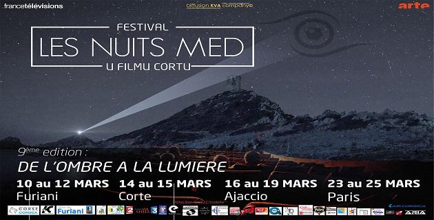 """""""De l'ombre à la lumière"""" la 9ème édition des Nuits Med à Furiani, Corte, Ajaccio et Paris"""