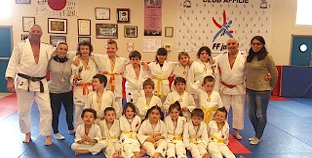 Santa-Lucia-di-Moriani : Les stages des vacances d'hiver du Judo Kwai