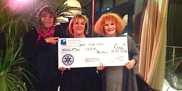 Porto-Vecchio : Le Rotary remet un chèque de 6 000€ à Inseme