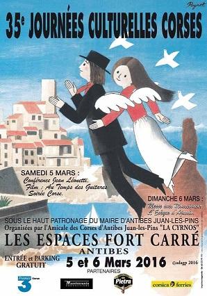 5 et 6 mars : INSEME au Journées corses d'Antibes