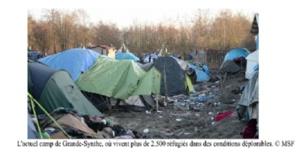 Per a Pace veut venir en aide aux réfugiés de Grande Synthe