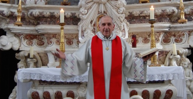 L'abbé Gérard Squarcioni (Photo Jacques Quilichini)