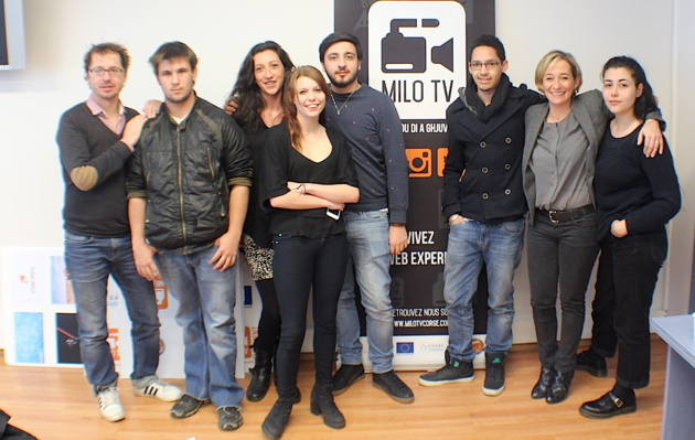 Milo TV : La web TV des 18-25 ans du réseau des Missions Locales de Corse