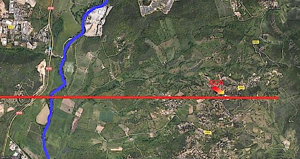 Incendie de Corse Composite : Le point de la situation dans la Gravona