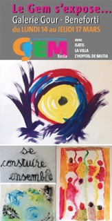 Bastia : L'Association GEM s'expose à l'occasion de la semaine de la santé mentale