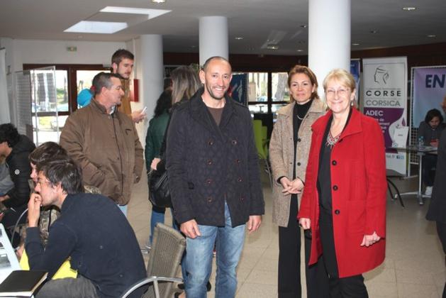 Calvi : Beaucoup de monde aux Rencontres pour l'emploi