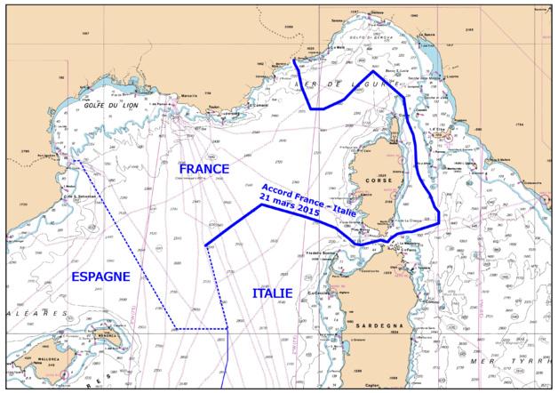Le « mystère » des frontières maritimes franco-italiennes fait polémique en Italie