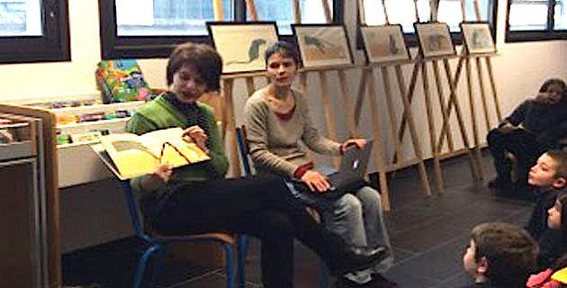 Pénélope Jossen s'expose à la Médiathèque de Borgo