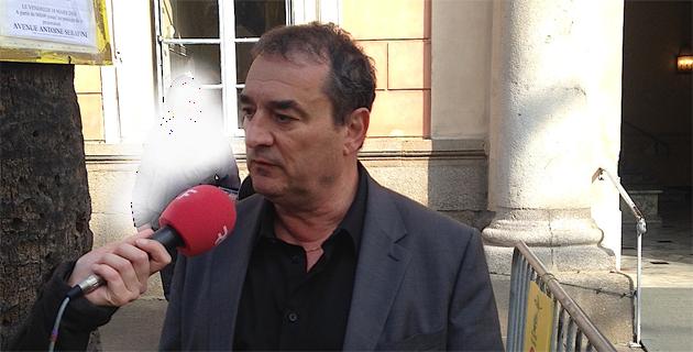 François Filoni, conseiller municipal délégué à la propreté.