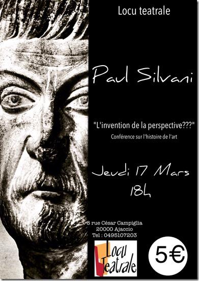 Conférence sur l'histoire de l'art à Locu Teatrale
