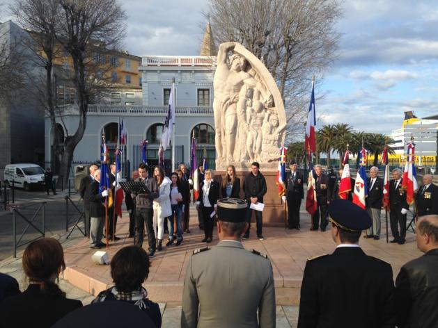 Bastia a rendu hommage à Fred Scamaroni