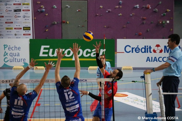 Volley-Ball : Le GFCA valide sa place en playoffs face à Nantes (3-1)