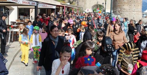Carnaval des écoles  dans la joie et la bonne humeur à Calvi