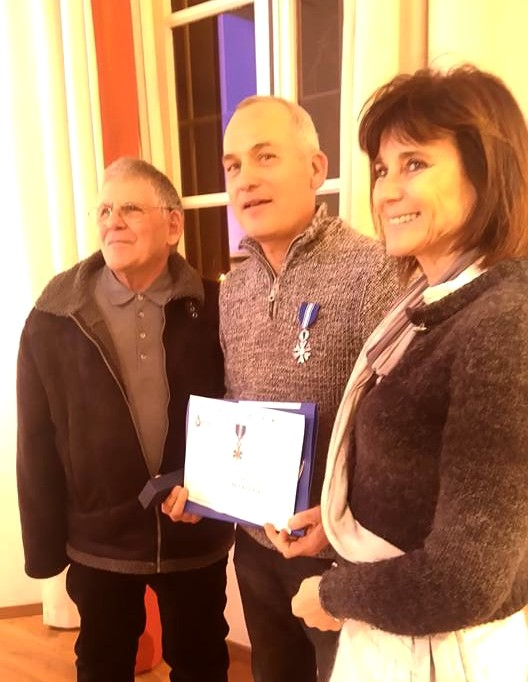 L'Ile-Rousse : La médaille d'argent des DSB pour François Carthayrade