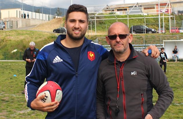 Sacha Valleau et Sam Lacombe
