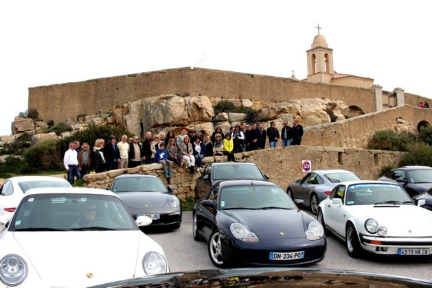 Sortie balanine pour les adhérents du Porsche Club Corse