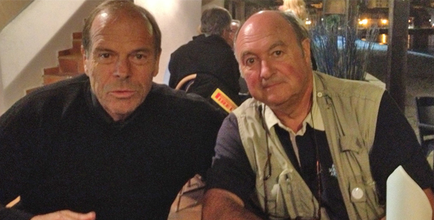 Marc Canonne (à gauche) aux côtés de Jean-Claude Bonugli