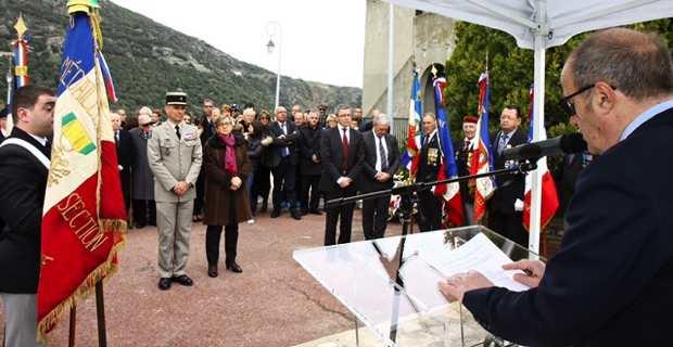 L'hommage à Ville-di-Pietrabugnu.