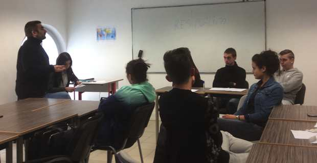 L'Ecole de la deuxième chance de Bastia se mobilise contre le racisme
