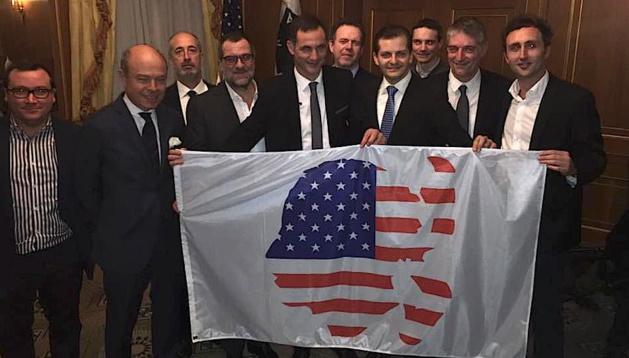 Gilles Simeoni a rencontré les Corses des Etats-Unis