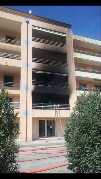 Propriano : Explosion au 1er étage d'un immeuble