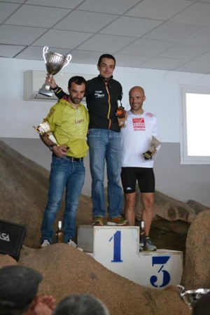 Podium de la course du Ruppione (Photo Maryline Brioschi)